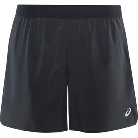 "asics 2-N-1 5"" Shorts Women performance black"